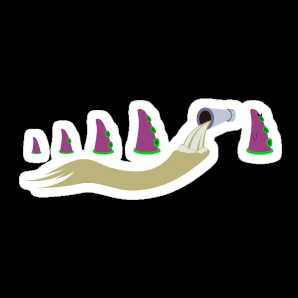 Evolution of Purple Tentacle by Scott Weston