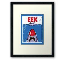 EEK Framed Print