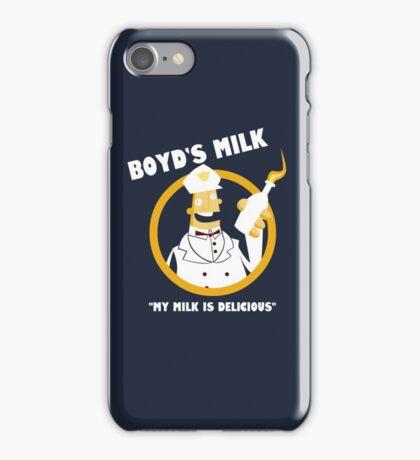 Boyd's Milk iPhone Case/Skin