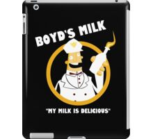 Boyd's Milk iPad Case/Skin