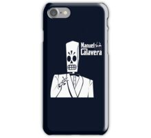 Godfather Manuel Calavera iPhone Case/Skin