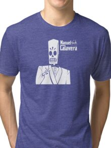 Godfather Manuel Calavera Tri-blend T-Shirt