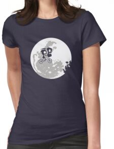 Dib and the E.T Womens Fitted T-Shirt