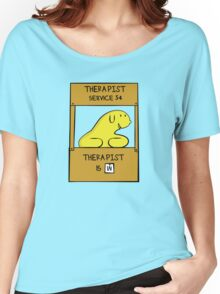 Hand Bananas Therapist Service Women's Relaxed Fit T-Shirt