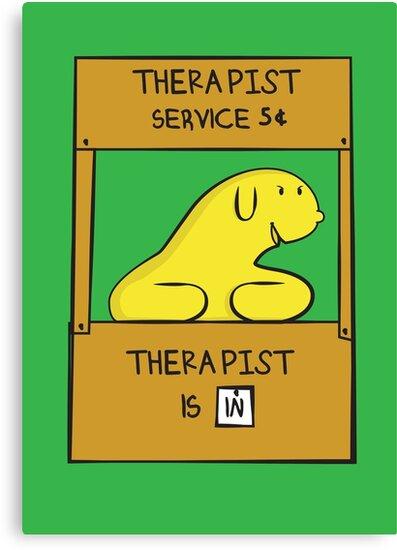 Hand Bananas Therapist Service by Scott Weston