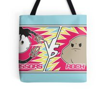 Scissors Vs Rock Tote Bag