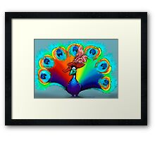 Red Hat Beauty Framed Print