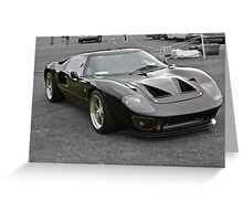 Ford GT40 in black Greeting Card