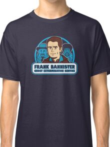 Frightener Ghost Extermination Service Classic T-Shirt