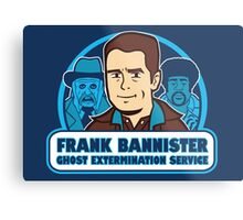 Frightener Ghost Extermination Service Metal Print