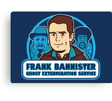 Frightener Ghost Extermination Service Canvas Print