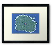 Hoggle's Labyrinth Framed Print