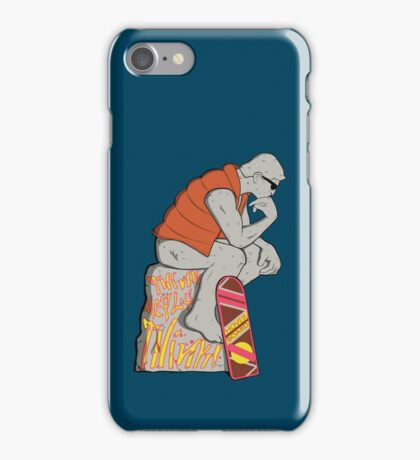 Think Mcfly, Think! iPhone Case/Skin