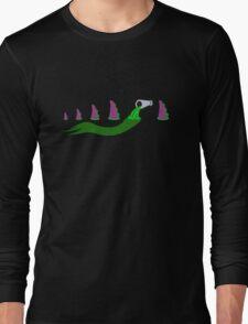 Evolution of Purple Tentacle Green Ooze Long Sleeve T-Shirt