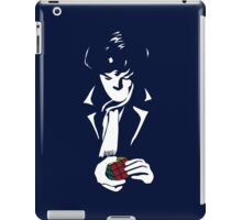 Nothing left unsolved (White) iPad Case/Skin