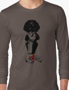 Nothing left unsolved (black) Long Sleeve T-Shirt