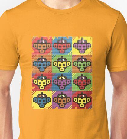 Monkey Blista Pattern Mosaic T-Shirt