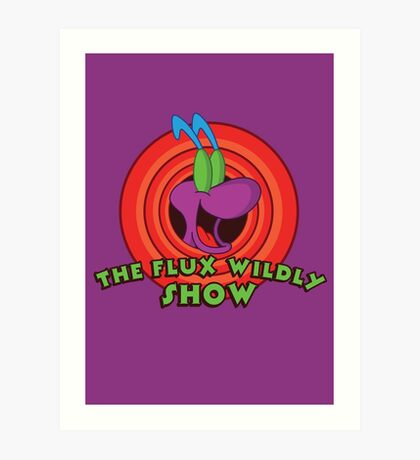 The Flux Wildly Show Art Print