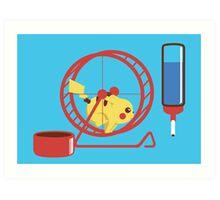 Pet Pikachu Art Print