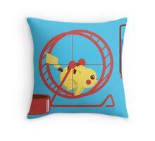 Pet Pikachu Throw Pillow