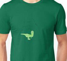 T-Rex don't climb Unisex T-Shirt