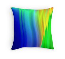 sunrise at the falls of grace Throw Pillow