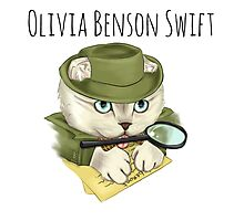 Detective Olivia Benson Swift Photographic Print