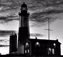 Montauk Point Light by DJ Florek