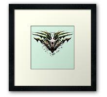 Dragon-Borne (strong as oak) Framed Print