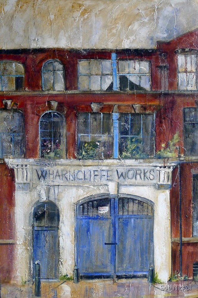 Wharncliffe Works, Kelham Island, Sheffield by Sue Nichol