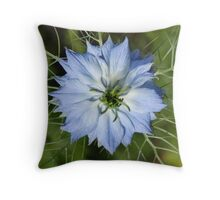 Love in the Mist 02 Throw Pillow