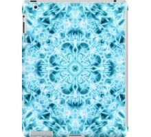 """Spirit of India: Snow-Fleur"" in turquoise and cyan iPad Case/Skin"
