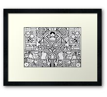 Locked Out Of Heaven Framed Print