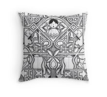 Locked Out Of Heaven Throw Pillow