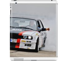 E30 Burnout! iPad Case/Skin
