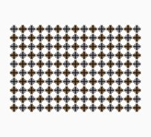 geometric square cross abstract pattern background Kids Clothes