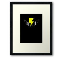 Air Zonk (PC Denjin Punkic Cyborg) - Outlined Framed Print