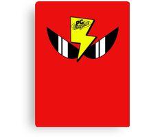 Air Zonk (PC Denjin Punkic Cyborg) - PC Engine Logo Canvas Print