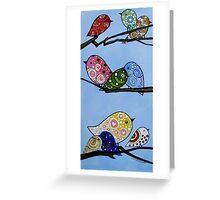 Sweet Tweets Greeting Card
