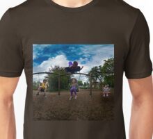 3  Kids on a Swing Unisex T-Shirt