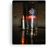 Candlelit Beer Canvas Print