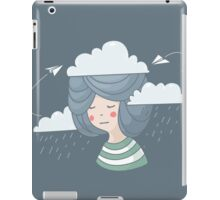Women's thoughts iPad Case/Skin