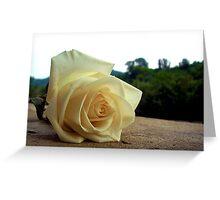 A Rose For Tina Greeting Card