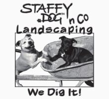 Staffy Dog n Co Landscaping. by Amandaism
