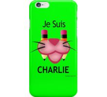 Pink Panther: Je Suis Charlie iPhone Case/Skin