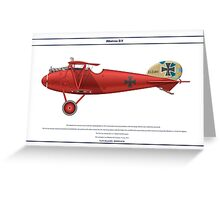 Albatros D.V Jasta 11 - 1 Greeting Card