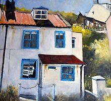 A Quiet Corner, Staithes by Sue Nichol