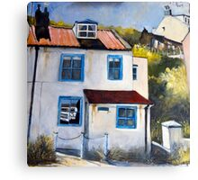 A Quiet Corner, Staithes Canvas Print