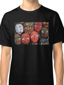 Traditional Korean Mask Classic T-Shirt