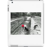 Out with the Pooches iPad Case/Skin